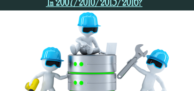 5 Ways To Backup And Restore Access Database In 2007/2010/2013/2016?