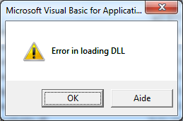 access_error_loading_dll
