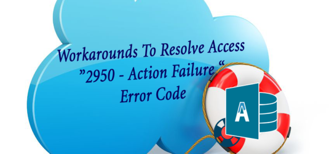 Fixes To Resolve Access 2950 – Macro Not Working Error