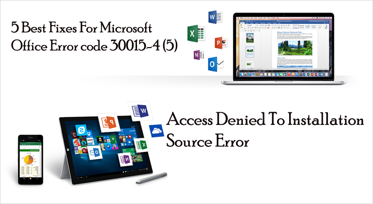 Fix Microsoft Office Error code 30015-4 (5)