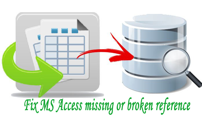 How To Fix Reference Issues In An Access Database?