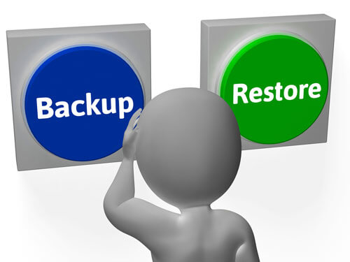 Recover from Backup