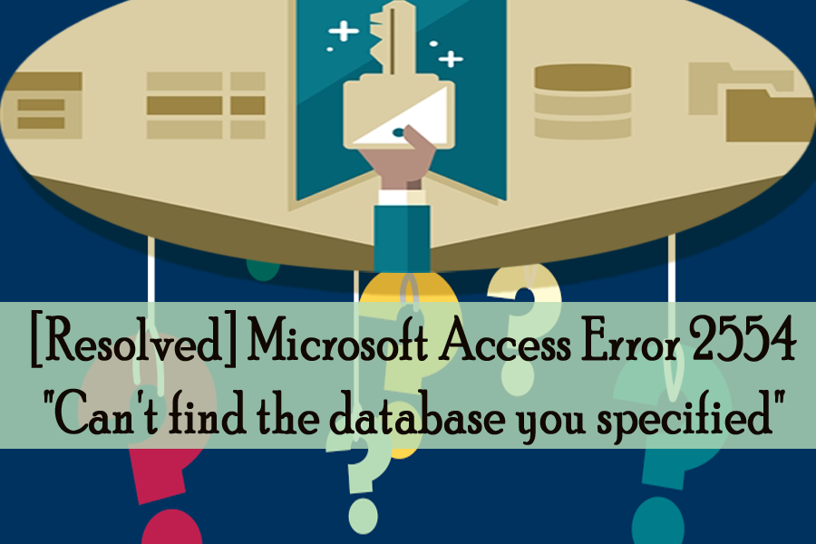Microsoft Access Error 2554