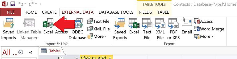 How To Import Or Link Ms Excel Data Into Ms Access 201620132010