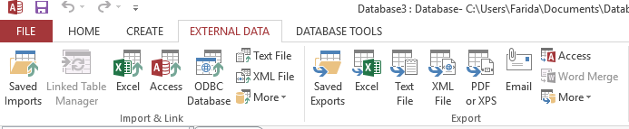 Export Access data to a Word document