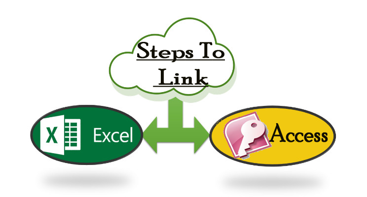 steps to link access with excel