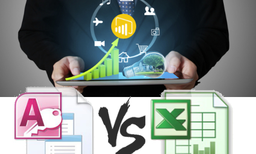 [Infographic] Access  Vs  Excel: Which One Is The Best?