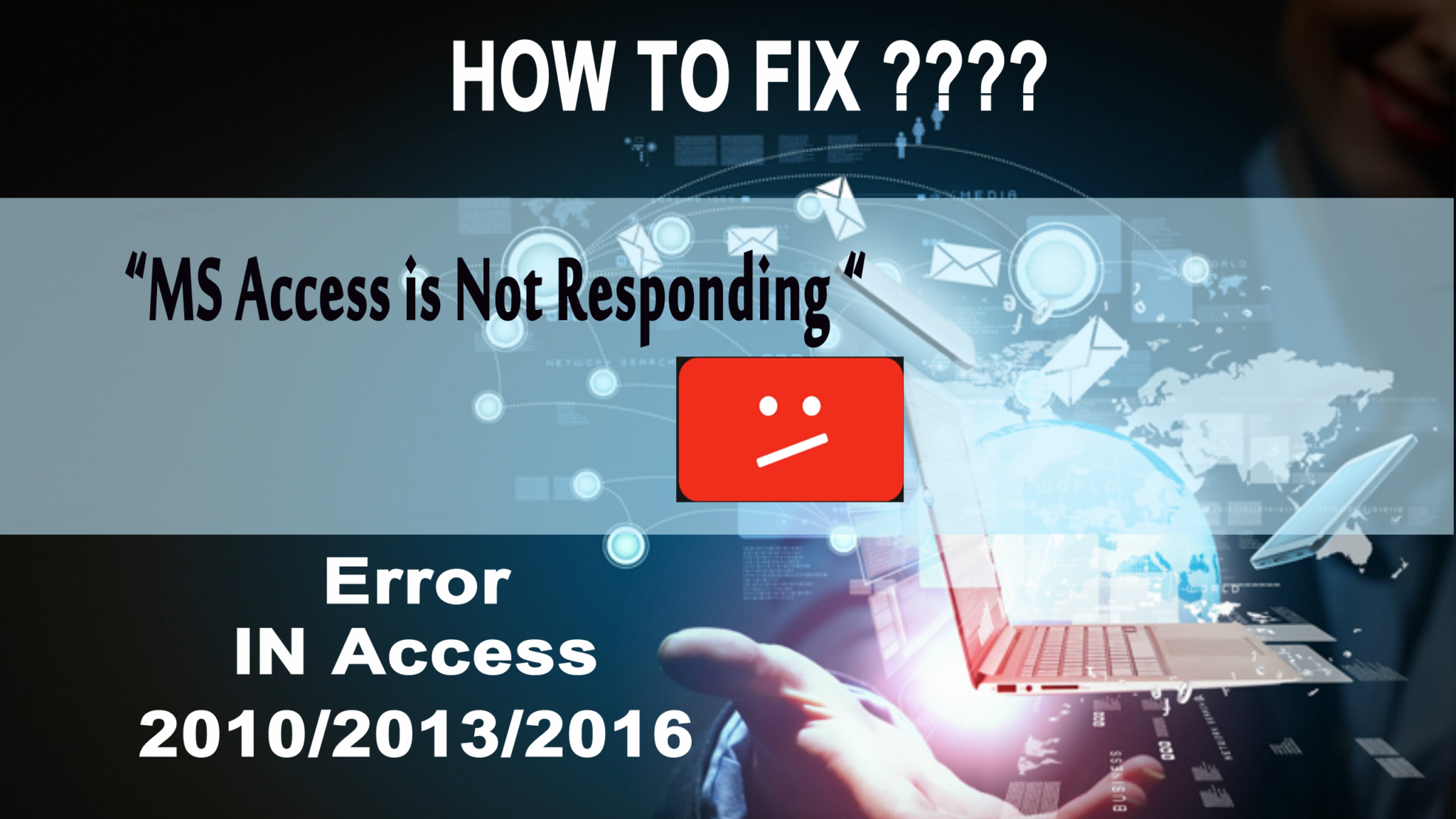 fixes to resolve access is not responding error