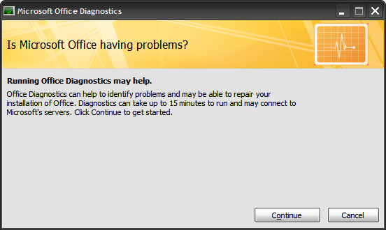 MS Office Diagnose And Repair1
