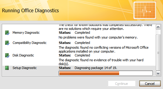 MS Office Diagnose And Repair4