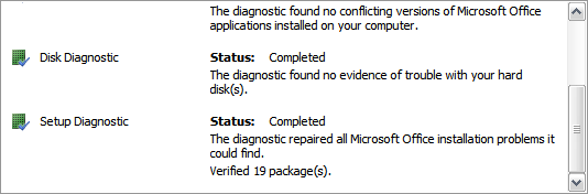 MS Office Diagnose And Repair6