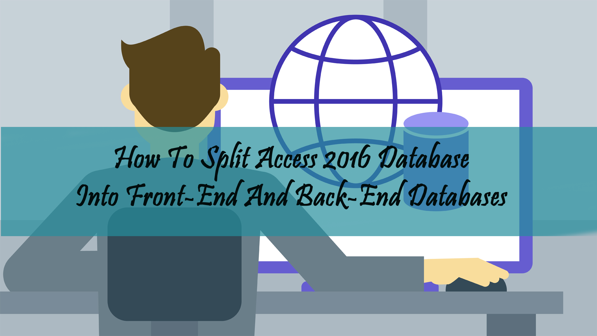spilt access 2016 database