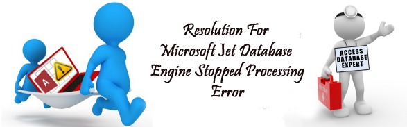 Resolution For Microsoft Jet Database Engine Stopped Processing Error