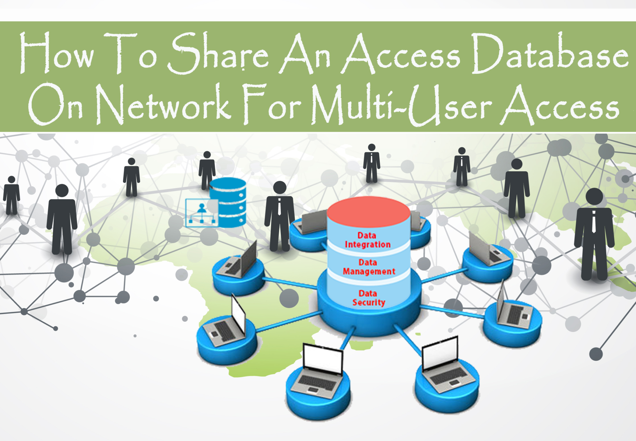 How To Share An Access Database On Network For Multi-User Access