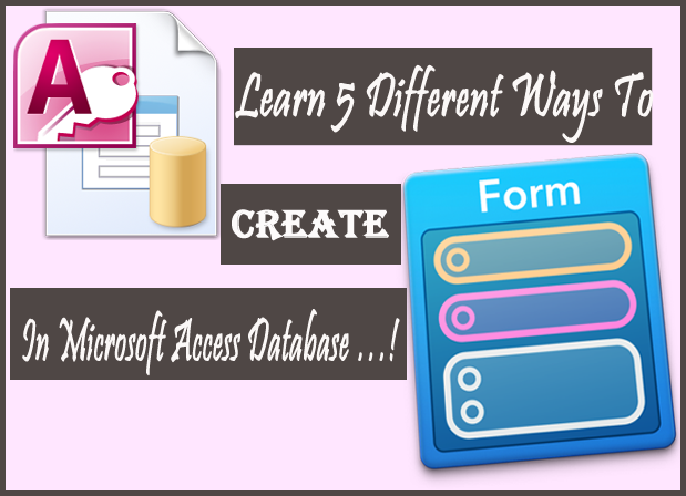 create form in access database2