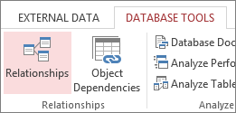 CREATE RELATIONSHIP IN ACCESS DATABASE 1