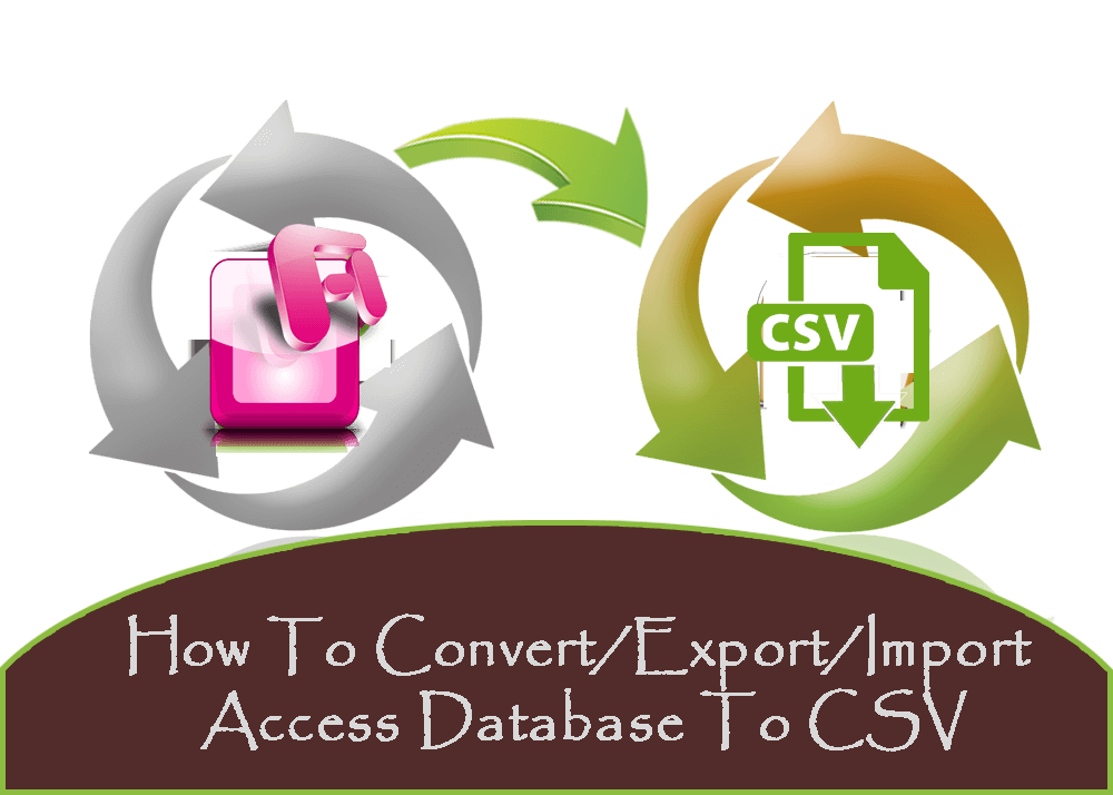 How To Convert/Export/Import Access Database To CSV