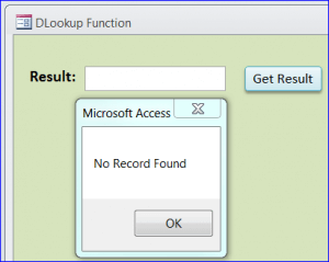 7 Ways To Use MS Access DLookup( ) Function That You Can't