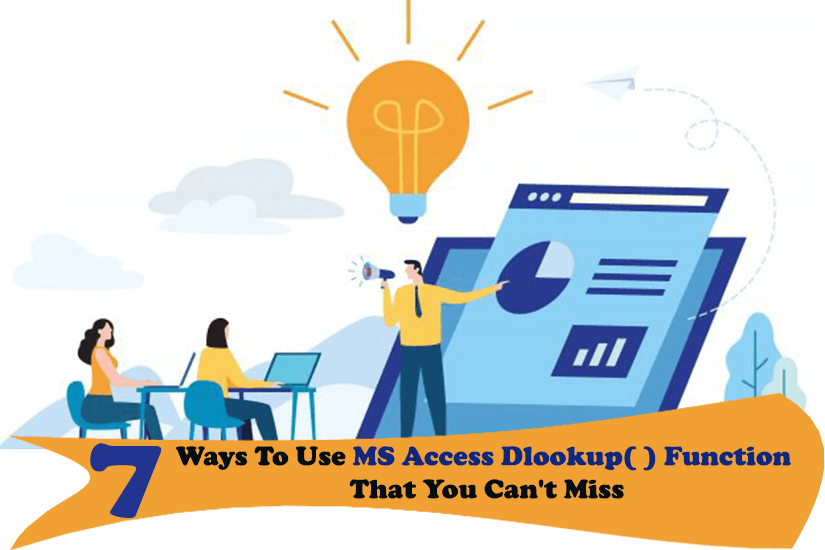 Ways To Use MS Access DLookup Function