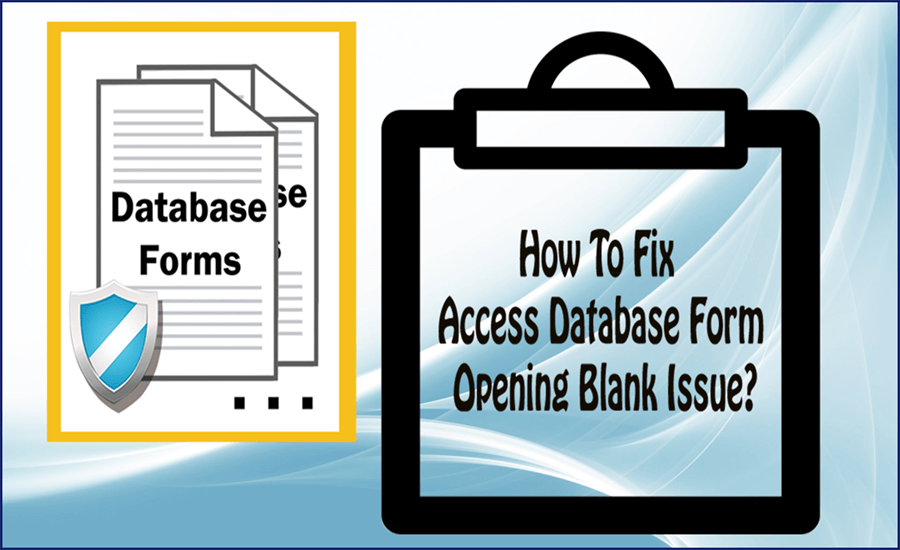 Access Database Form Opening Blank