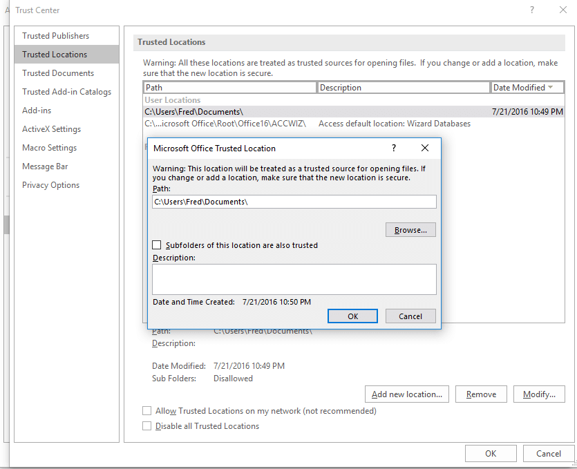 Make MS Access Database Executable 9
