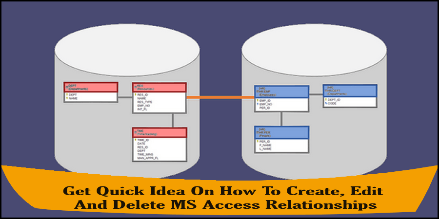 How To Create, Edit And Delete MS Access Relationships