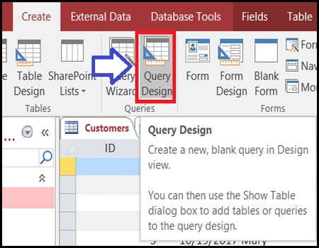 Microsoft Access Query Optimization