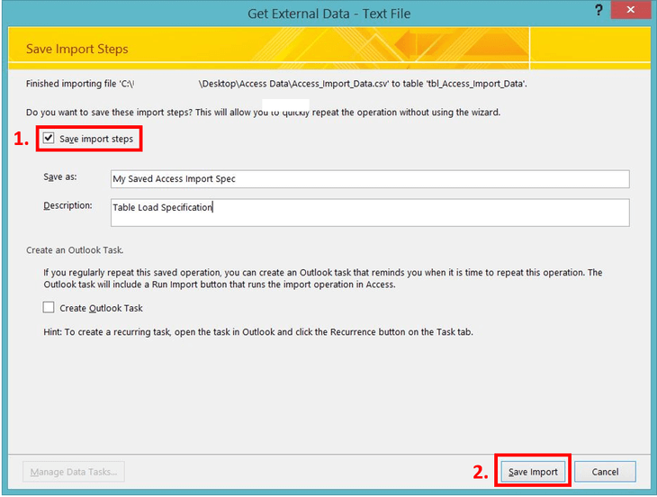 MS Access Import Errors 3