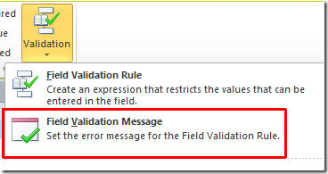ms access validation rule 5