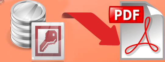 How To Export Access Report To PDF File Via VBA