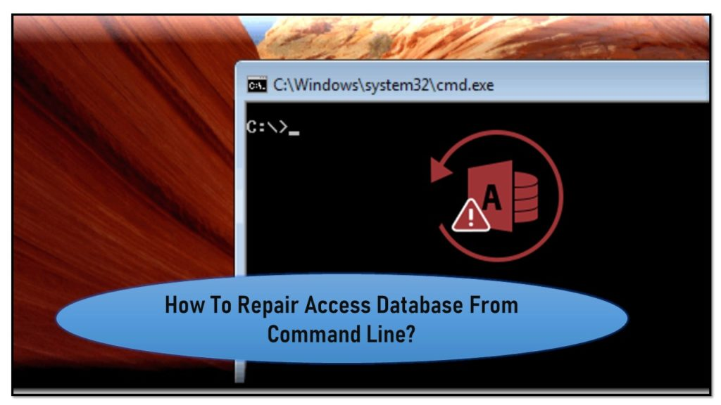 How To Repair Access Database From Command Line