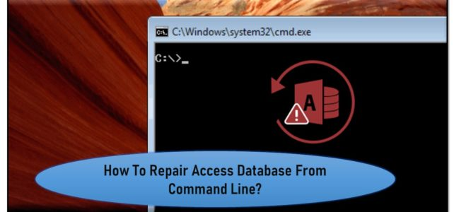 How To Repair Access Database From Command Line?
