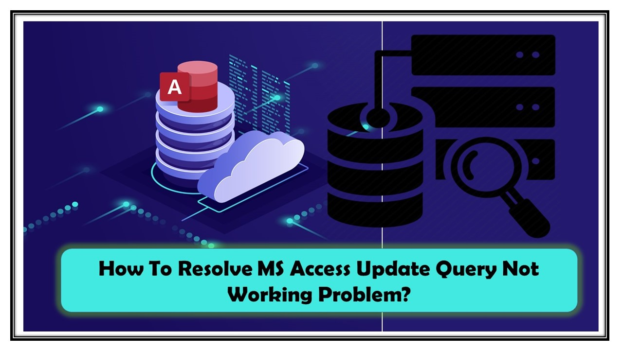 MS Access Update Query Not Working